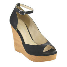 C LABEL AC38 Women's Ankle Strap D'orsay Platform High Heel Wedges New In Box