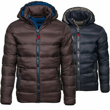 BOLF HF MOUNTAIN 1113 Mens Jacket Transitional Sweat 4D4 Quilted