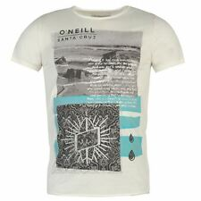 ONeill Mens Old Salt T Shirt Summer Casual Print Short Sleeve Crew Neck Tee