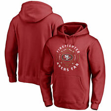 San Francisco 49ers Pro Line Firefighter Pullover Hoodie - Red - NFL