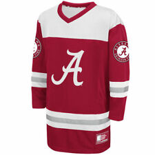 Alabama Crimson Tide Colosseum Youth Hockey Jersey - Crimson - College