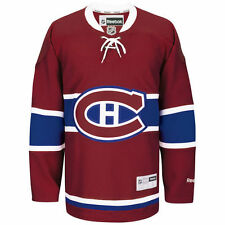 Montreal Canadiens Reebok Premier Home Jersey - Red - NHL
