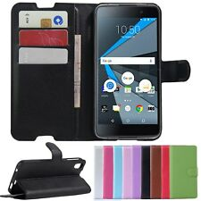 PU Leather Stand Wallet Case Cover For BlackBerry Neon/Blackberry DTEK50 Phone