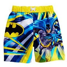 BATMAN CAPED CRUSADER DC COMICS Bathing Suit Swim Trunks Toddler's Size 2T  $20