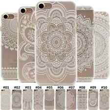 Cute Thin Hard Shell Skin PC Case For Apple iPhone Clear Plastic Protector Cover