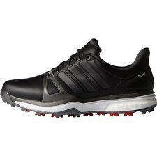 Adidas Mens Adipower Boost 2 Closeout Golf Shoes Q44660 – Black/Silver/Red - New