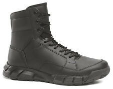"New Oakley SI LIGHT ASSAULT LEATHER BOOTS 6"" 12099-001 Mens Tactical Black Shoes"