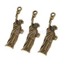 50pcs the Statue of Liberty Charms DIY Jewelry Findings