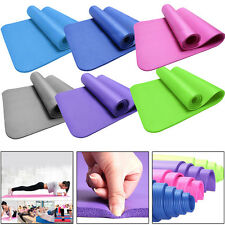 10/15MM Thick Durable Yoga Mat Non-slip Exercise Fitness Pad Mat Lose Weight Pad