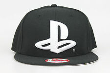 Playstation Sony PS Logo Black White Gray New Era 9Fifty Snapback Hat Cap
