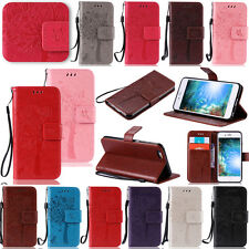 YPKT Embossing Leather Wallet Case Cover For Apple iPhone 7 6 6S Plus 5/5S 5C 4S