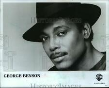 1986 Press Photo George Benson, Singer - mjp00696