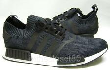 Adidas NMD R1 PK PrimeKnit Winter Wool Pack Black White Mens 6-14 Trainer BB0679