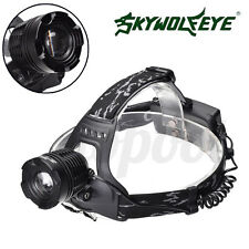 2200LM Waterproof CREE T6 LED Zoomable Bicycle Headlamp High Power Headlight