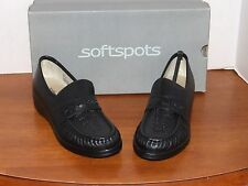 Soft Spots Venus Lite Black, Taupe, Navy or Wine Leather Loafers Shoes