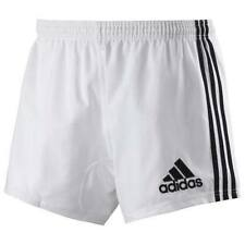 Adidas Performance Men's Climacool Rugby Shorts Match Training Kit White & Black