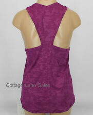 NEW LULULEMON Run For Days Tank Sz 4 6 8 10 Regal Plum Camo NWT FREE SHIP