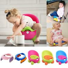 Foldable Baby Kids Potette Plus/ Egg Potty Toilet Chair Home Travel Potty Seat