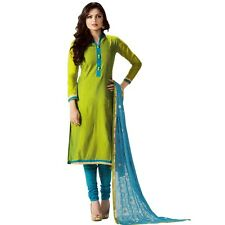 Designer Silk Embroidered Salwar Kameez Suit Indian Dress Ready to Wear-LT-92006