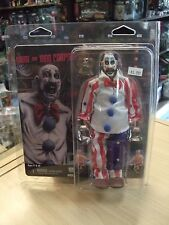 """House of 1000 Corpses Captain Spaulding  8"""" Retro Style Clothed Figure by NECA"""