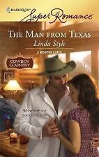 Cowboy Country Romance The Man From Texas by Linda Style Paperback