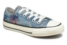 Kids's Converse Chuck Taylor All Star Ox K Low rise Trainers in Blue