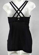NEW LULULEMON ENERGY Tank Top Sz 6 10 Midnight Iris Black NWT FREE SHIP