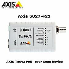 AXIS COMMUNICATION INC 5027-421 T8642 POE+ OVER COAX DEVICE