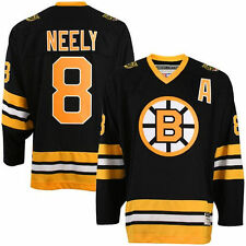 CCM Boston Bruins #8 Cam Neely Black Heroes of Hockey Jersey - NHL