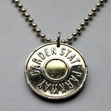 USA NJ New Jersey GSP Garden State Parkway coin token pendant n001228