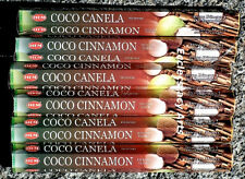 Hem Coco Cinnamon Incense Sticks 20-40-60-80-100-120 Incense  U Pick Amount