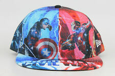 Marvel Captain America Civil War All Over Graphic New Era 59Fifty Fitted Hat Cap