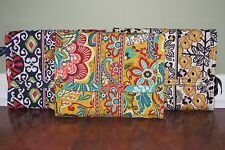 Vera Bradley SUN VALLEY, PROVENCAL, GO WILD Travel JEWELRY FOLIO Book Organizer