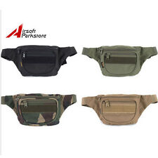 ROGISI Tactical Military 600D Waist Pack Bag Pouch Sport Cycling Hiking Camping