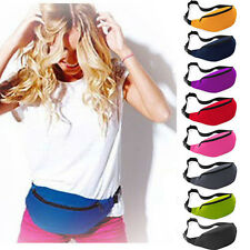 Running Belt Bum Travel Handy Hiking Sport Fanny Pack Camping Waist Belt Zip Bag