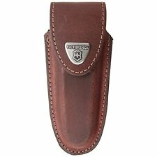 Victorinox 2/3 layer Belt Pouch Brown Leather