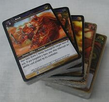 WORLD OF WARCRAFT TCG WOW LOT OF 10 MIXED RANDOM CARD DECK SETS NEW & SEALED