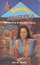 The Mystery at Claudias House - Ann M Martin - Acceptable - Paperback