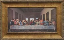 Da Vinci Last Supper  New Custom Framed Canvas Replica