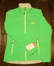 NEW Authentic THE NORTH FACE Womens Green Apex Bionic Softshell Ski Jacket, TNF