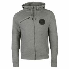 883 Police Mens Langdon Hoody Full Zip Hoodie Long Sleeve Hooded Casual Top