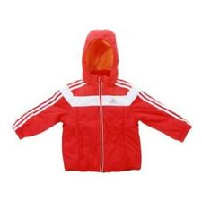 ADIDAS GIRLS LB Y JACKET [SIZE 116 / 128] W52875 WINTER JACKET RED