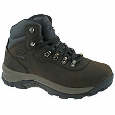 MENS HI-TEC ALTITUDE IV WP WIDE BROWN WATERPROOF HIKING WALKING BOOTS