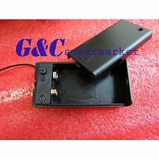 1/5PCS 9V Battery Holder with ON/OFF Switch 9 volt Box GOOD QUALITY M8