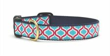 Any Size - Up Country - MADE IN USA - Designer Dog Collar - Blue Kismet