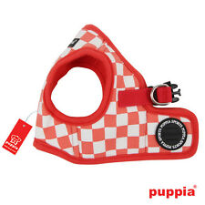 Any Size - PUPPIA - GRAND PRIX - Soft Dog Puppy Harness Vest - Red