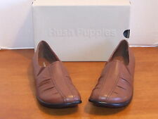 Hush Puppies Wellesley Cognac Leather Loafers Shoes
