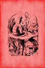 Alice in Wonderland Journal - Alice and the Caterpillar (Red) 1... 9781534953574