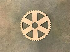 Crafting Supplies -- Set of 5 Wooden gears Unfinished Laser Cut Wood