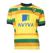OFFICIAL NORWICH CITY FOOTBALL CLUB 2015-16 PLAYER ISSUE THIRD SHIRT